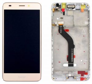 Huawei Honor 7 Lite Dual Sim (NEM-L51) LCD Display Module (Incl. frame) - Gold