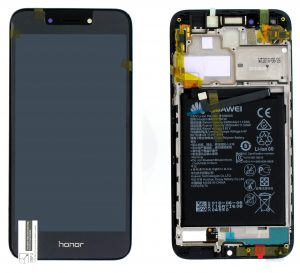 Huawei Honor 6A (DLI-AL10) LCD Display Module Dark Gray (Incl. frame