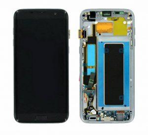 Samsung Galaxy S7 Edge (G935F) LCD Display Module - Gold
