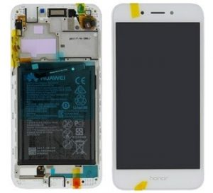 Huawei Honor 6A (DLI-AL10) LCD Display Module Gold/Silver (Incl. frame