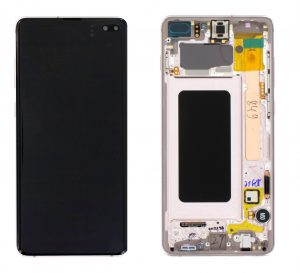 Samsung Galaxy S10+ (G975F) LCD Display Module - Ceramic White