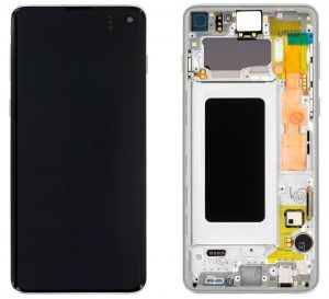 Samsung Galaxy S10 (G973F) LCD Display Module - Prism White