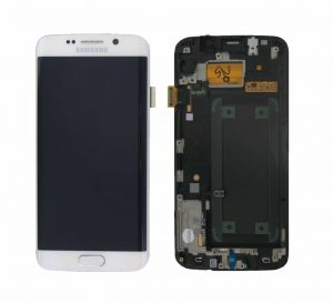 Samsung Galaxy S6 Edge (G925F) LCD Display Module - White