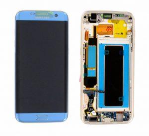 Samsung Galaxy S7 Edge (G935F) LCD Display Module - Coral Blue