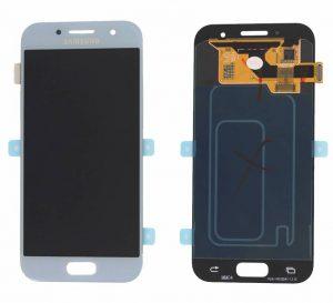 Samsung Galaxy A3 2017 (A320F) LCD Display Module - Blue