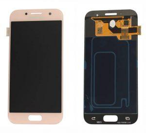 Samsung Galaxy A3 2017 (A320F) LCD Display Module - Pink