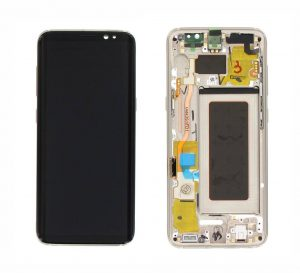 Samsung Galaxy S8 (G950F) LCD Display Module - Gold