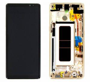 Samsung Galaxy Note8 (N950F) LCD Display Module - Gold
