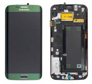 Samsung Galaxy S6 Edge (G925F) LCD Display Module - Green