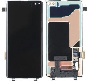 Samsung Galaxy S10+ (G975F) LCD + Touchscreen Display (NO FRAME) - Black